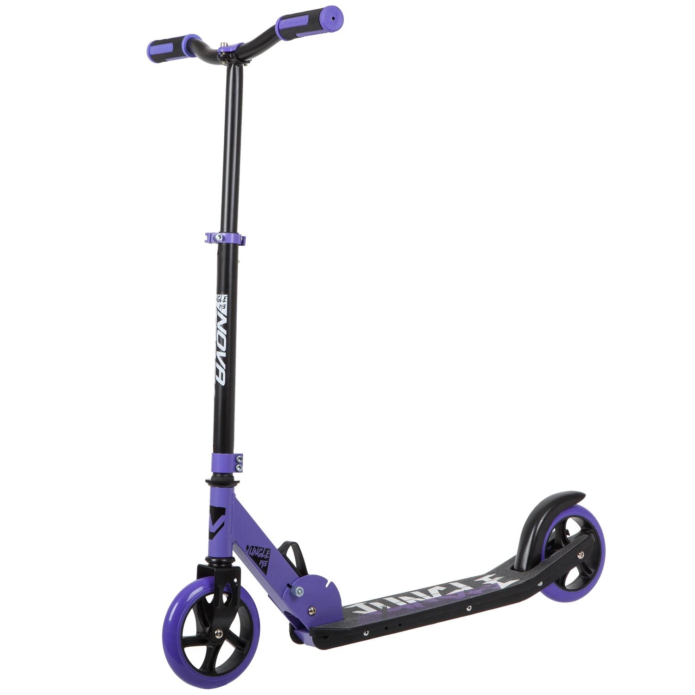 Купить Самокат городской Novatrack Jungle PRO , фиолетовый,