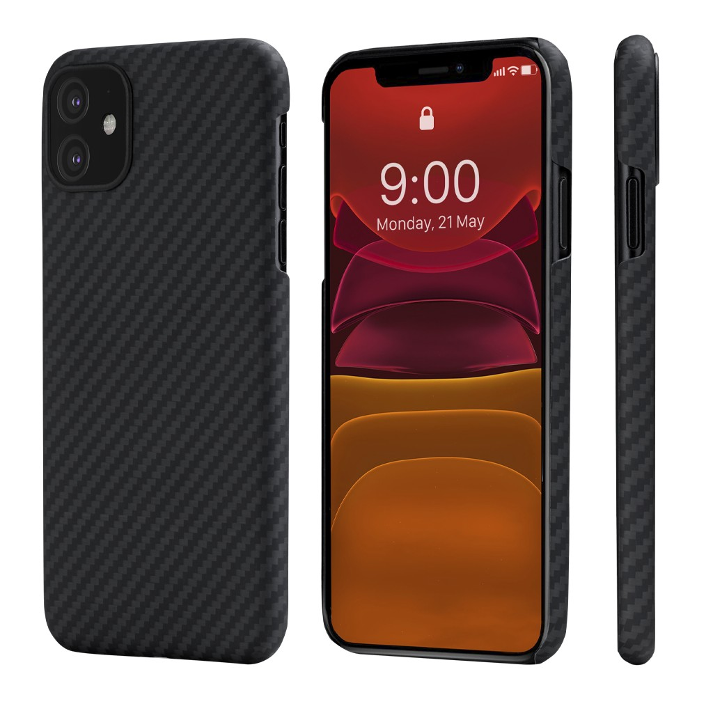 Чехол Pitaka MagCase для iPhone 11 Black/Grey