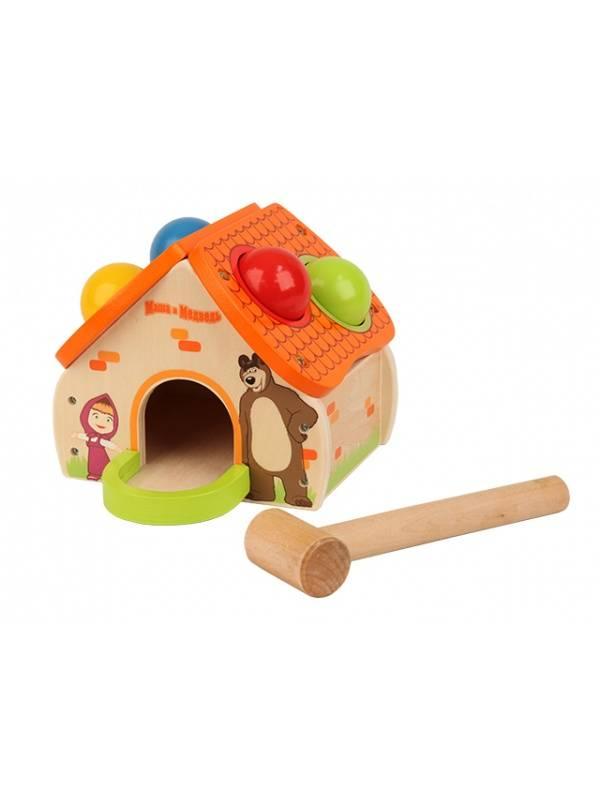 Развивающая игрушка Затейники Домик Маши