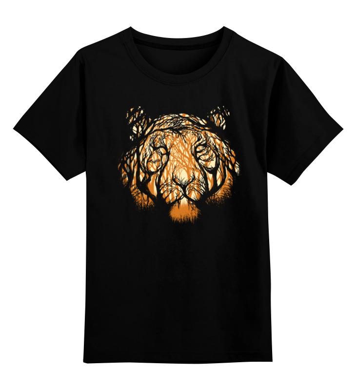 Детская футболка Printio Лесной охотник цв.черный р.152 0000000783803 по цене 990