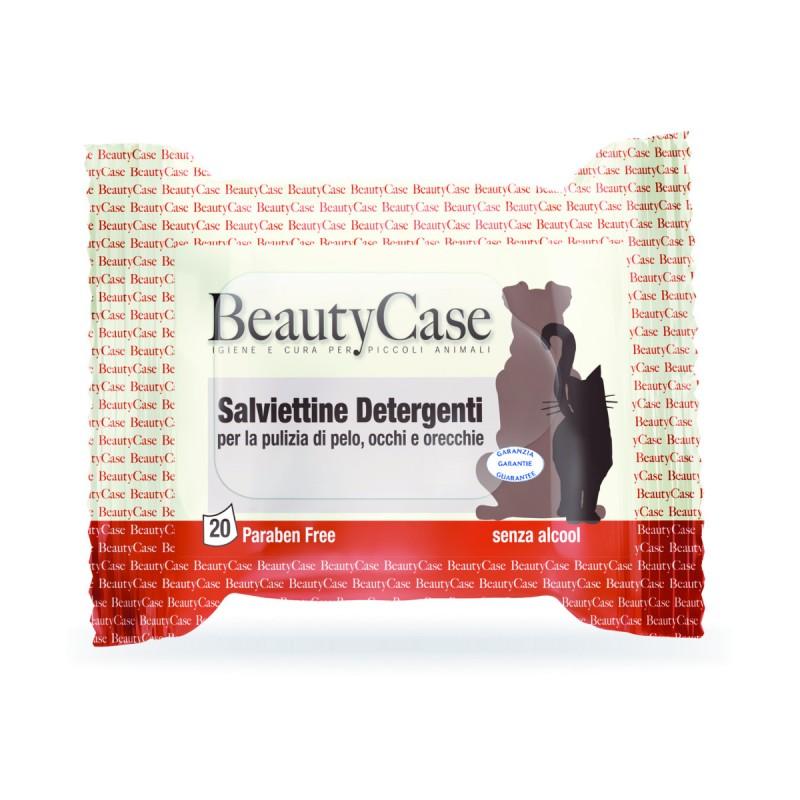 Влажные салфетки для кошек и собак BeautyCase,