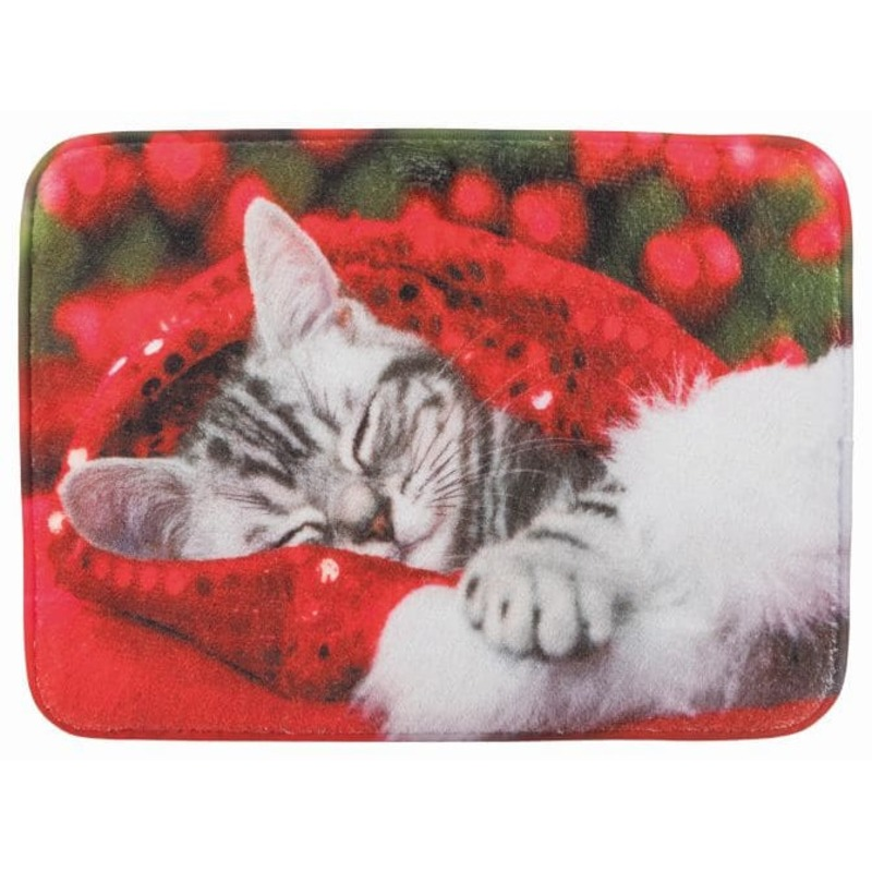 Коврик для кошек TRIXIE Кошка плюш, Кошка,