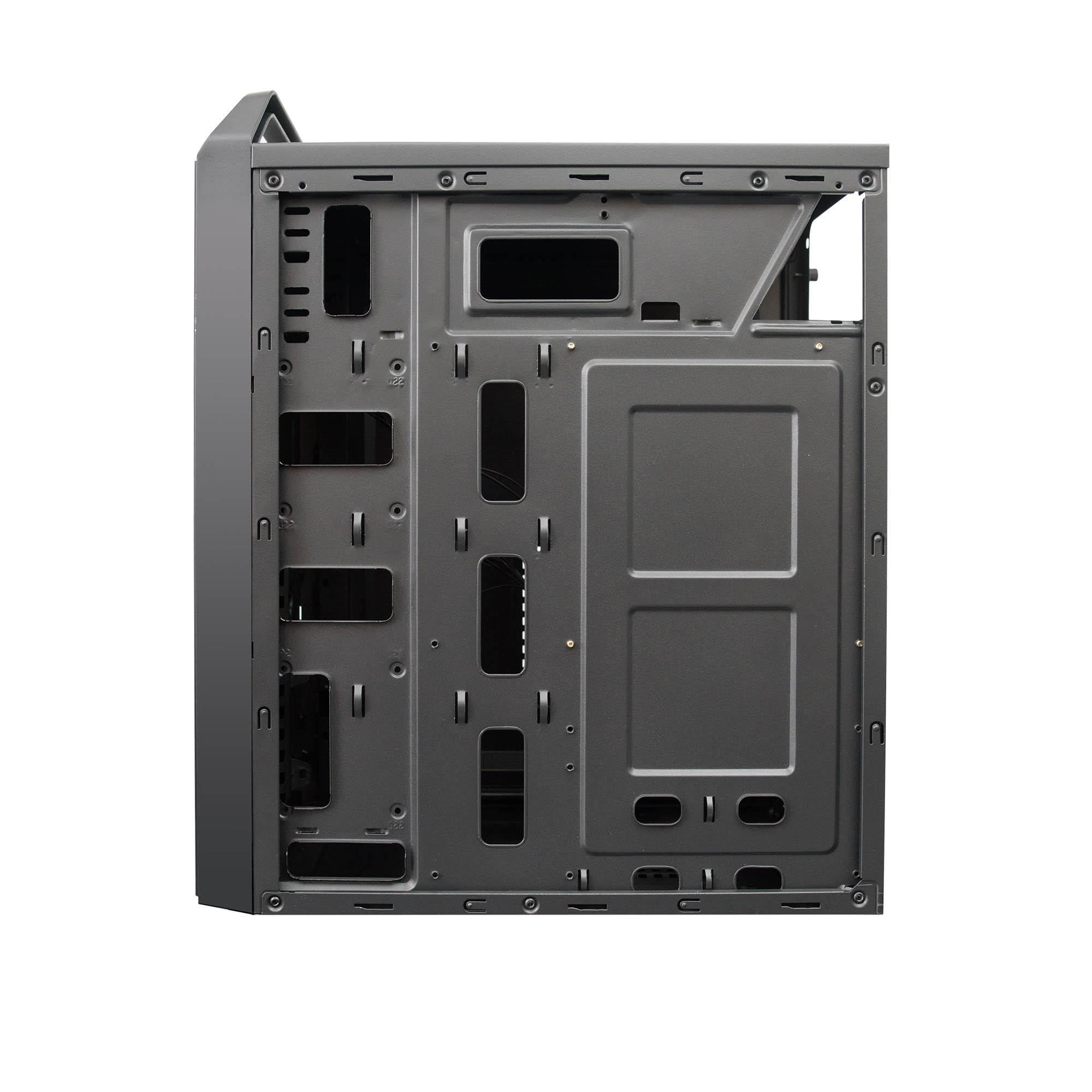 Компьютерный корпус Hiper V01 без БП Black
