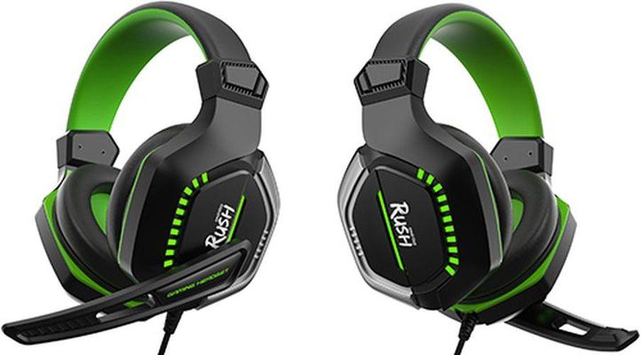 Игровые наушники Smartbuy Rush Crush'em Black/Green (SBHG