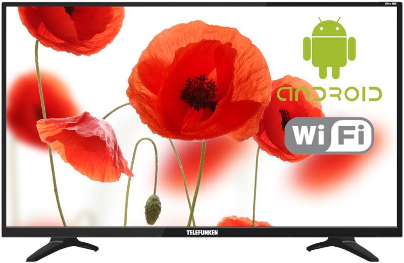 LED телевизор 4K Ultra HD Telefunken TF-LED50S52T2SU