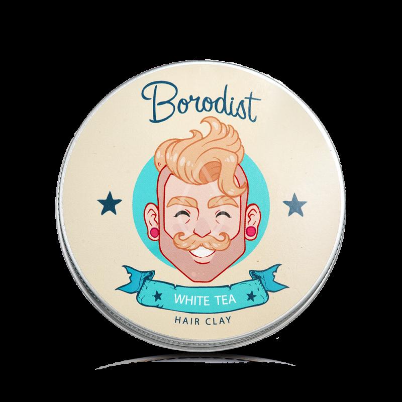 Глина для укладки волос Borodist «Белый чай»