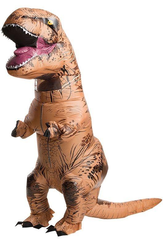 Надувной костюм Lilkrok Динозавр, цв. коричневый р.150