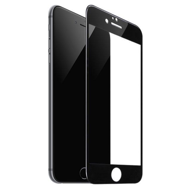 Стекло защитное для Apple iPhone 6 Plus/6S Plus Mietubl 0,33mm черный