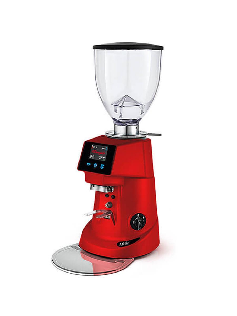 Кофемолка электронная Fiorenzato F64E Red