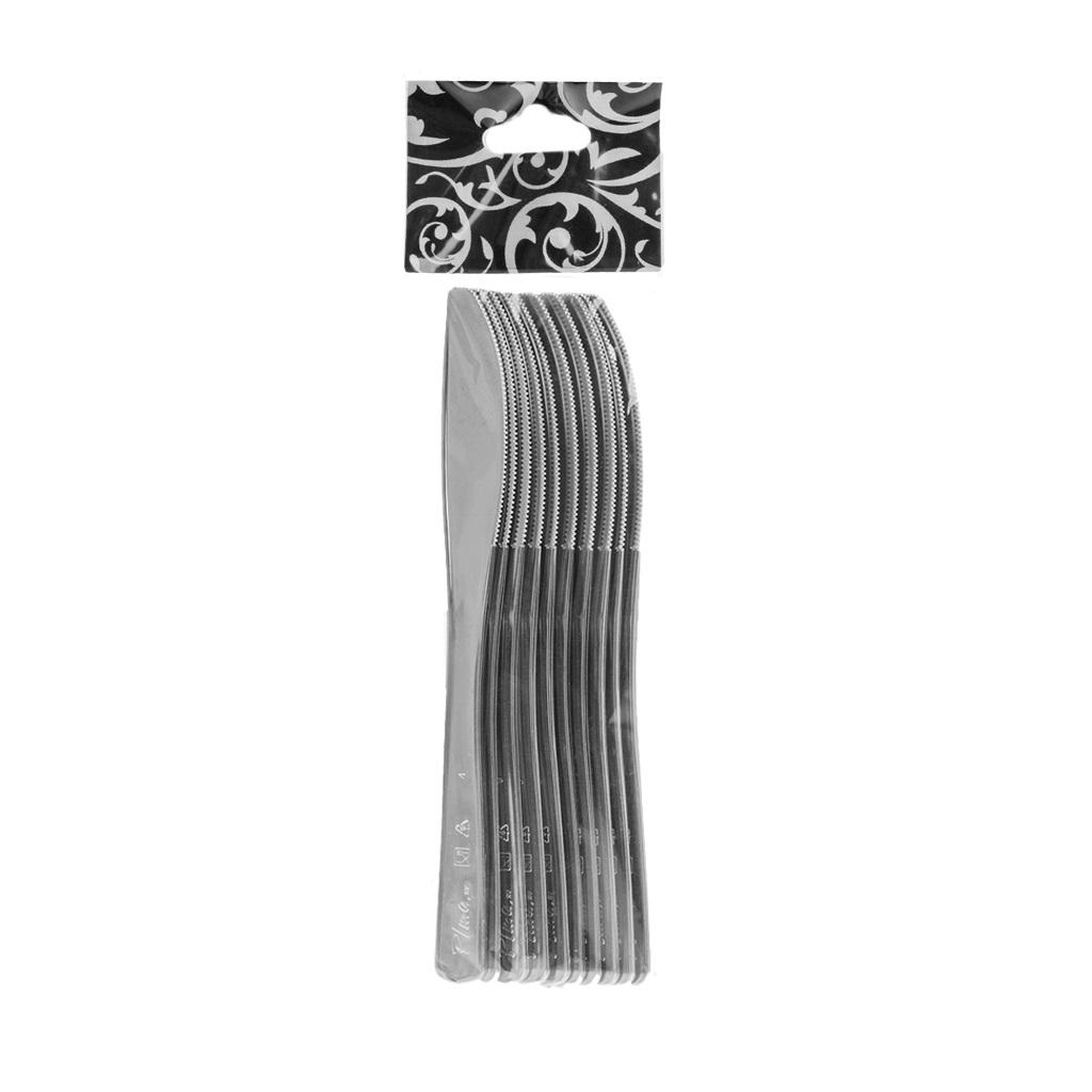 Ножи одноразовые металлизированные, Россия