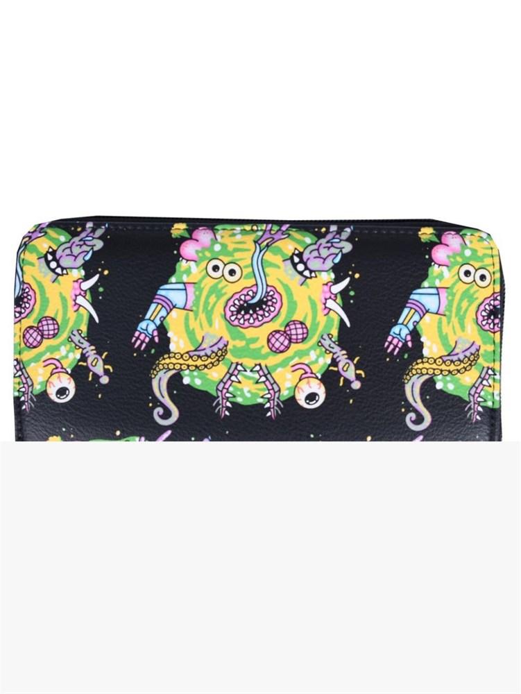 Купить Кошелек Рик и Морти (Rick & Morty Ladies Zipped Purse), BioWorld Кошелек Рик и Морти Rick & Morty Ladies Zipped Purse, Детские кошельки