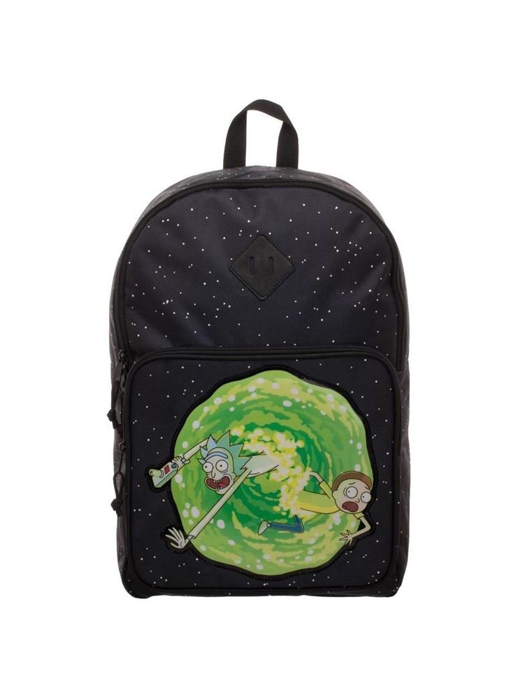 Купить Рюкзак Рик и Морти и Портал (Portal Backpack), BioWorld Рюкзак Рик и Морти и Портал Portal Backpack, Школьные рюкзаки для девочек