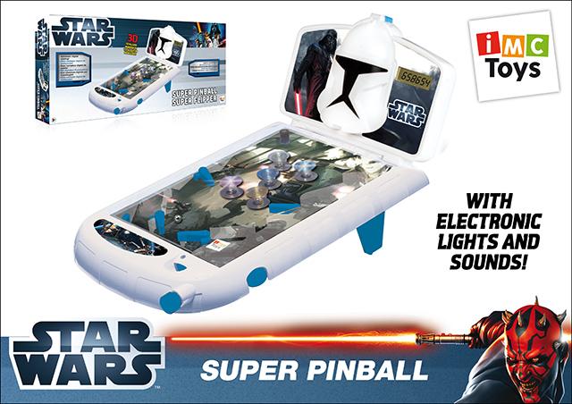 Пинбол IMC Toys Star Wars