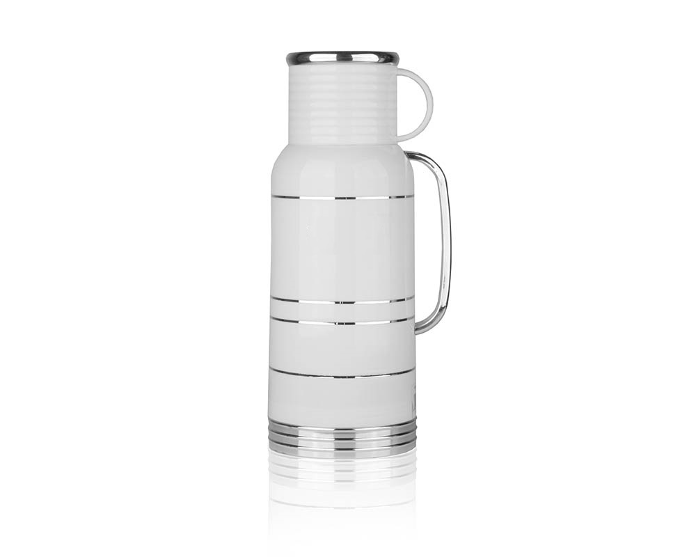 Термос HITT, 1,8 л, пластиковый, стеклянная колба