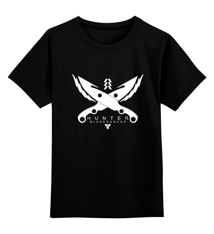 Детская футболка Printio Hunter destiny цв.черный р.164 0000000774577 по цене 990