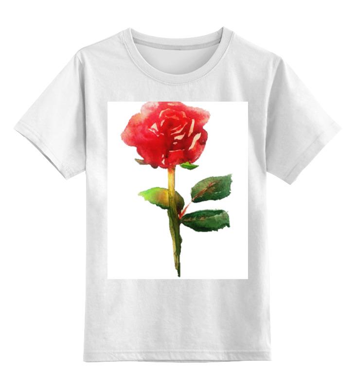 Купить 0000000771409, Детская футболка Printio С 8 марта! цв.белый р.164,
