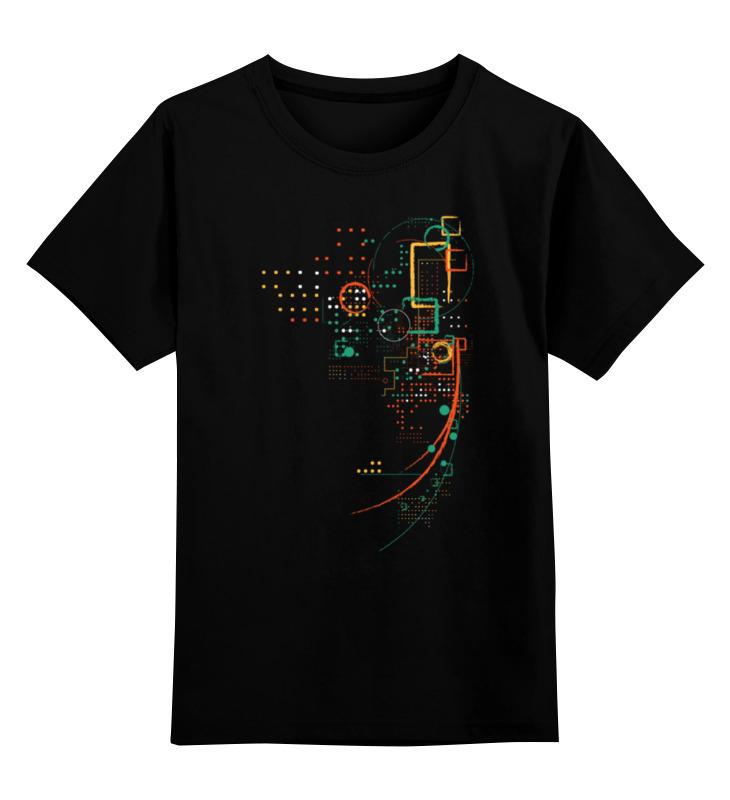 Детская футболка Printio Ночной город цв.черный р.164 0000000767523 по цене 990