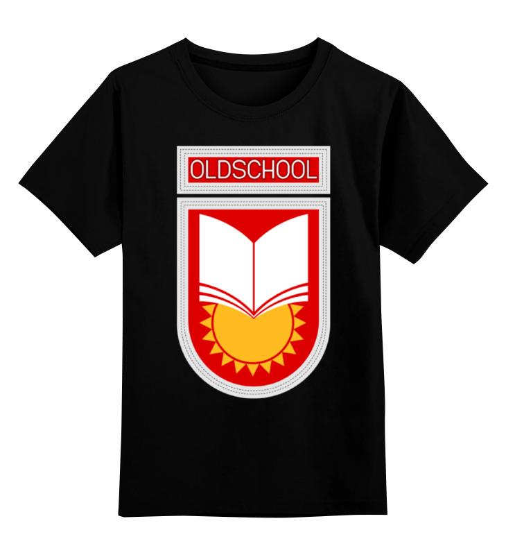 Детская футболка Printio Oldschool цв.черный р.104 0000000785348 по цене 990