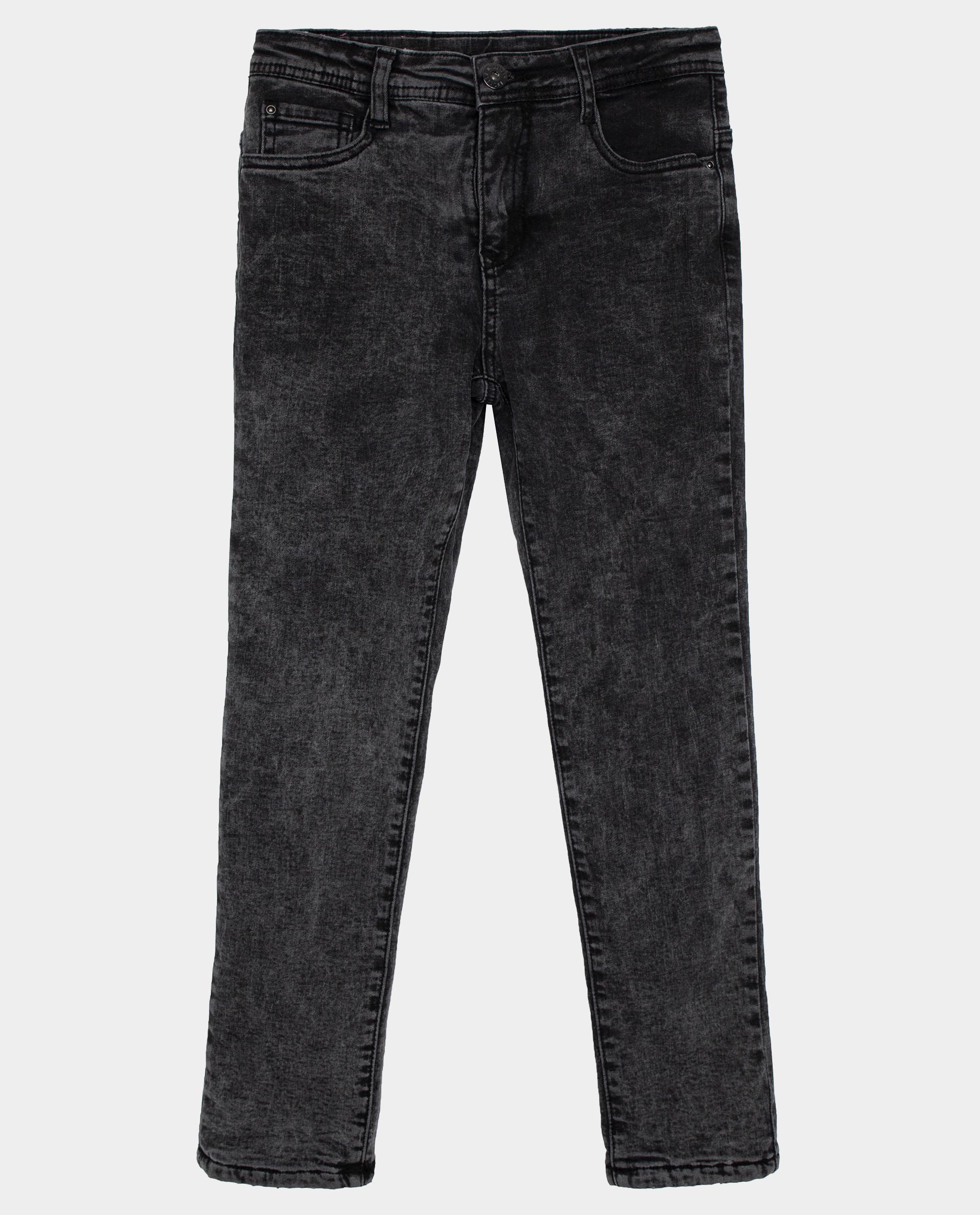 Купить Черные джинсы утепленные Gulliver размер 140 22009GJC6402,