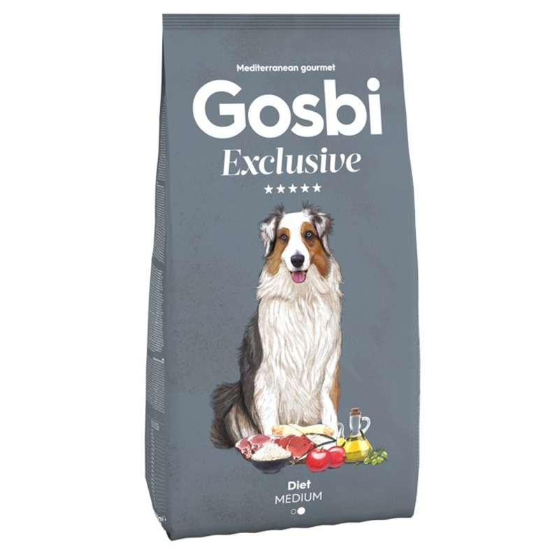 Gosbi Exclusive сухой корм для собак средних
