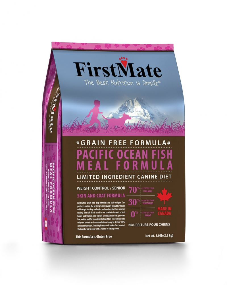 FirstMate Pacific Ocean Fish Meal Weight Control