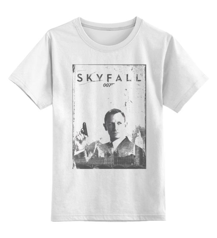 Детская футболка Printio Skyfall цв.белый р.104 0000000768954 по цене 790