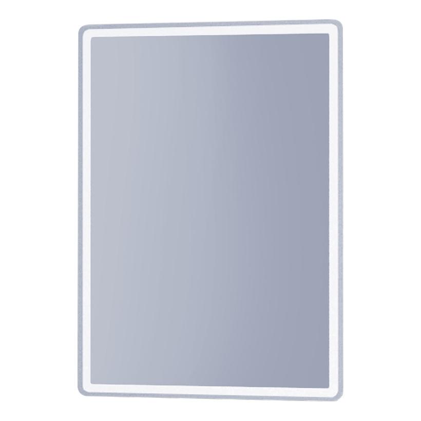 Зеркало настенное dreja.eco tiny led 99.9024 60х70 см, хром