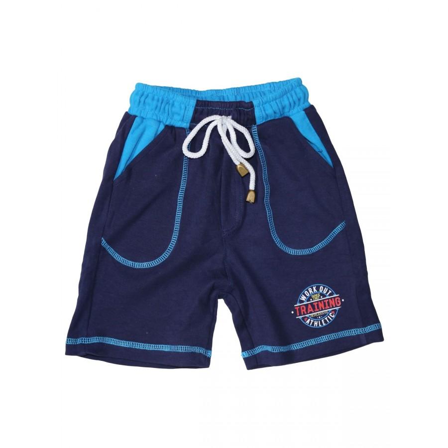 Купить Шорты для мальчиков Bonito kids 3725-01 цв. темно-синий р.92, Шорты и брюки для новорожденных