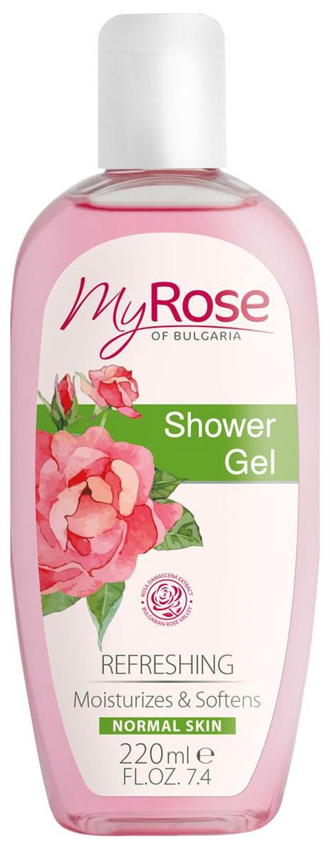 Купить Гель для душа My Rose of Bulgaria, 220 мл, Lavena