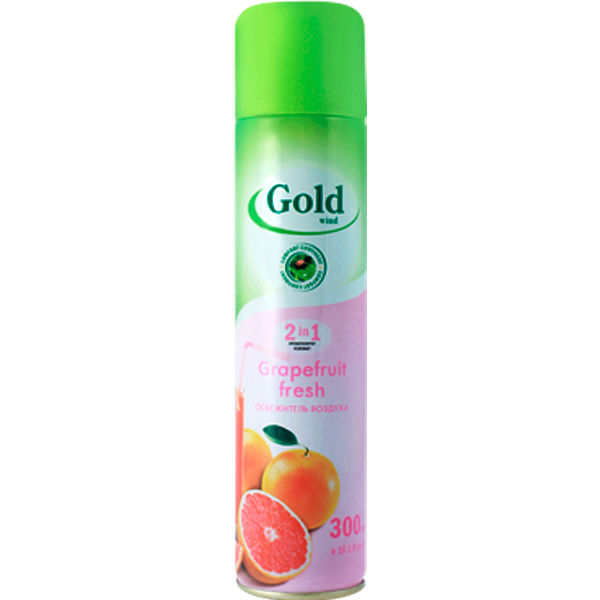 Освежитель воздуха Gold Wind грейпфрут фреш 300 мл
