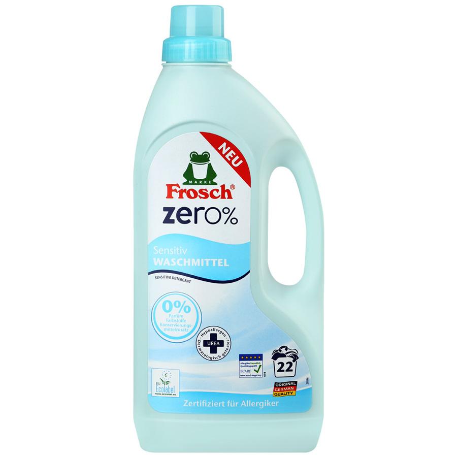 Жидкое средство для стирки Frosch ZERO% Sensitive