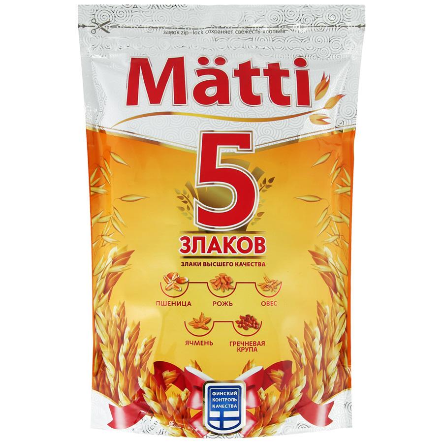 Каша Matti 5 злаков 400 гр.