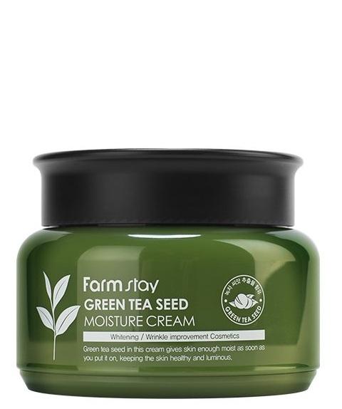 Купить Увлажняющий крем с зеленым чаем FARMSTAY GREEN TEA SEED MOISTURE CREAM 100 г