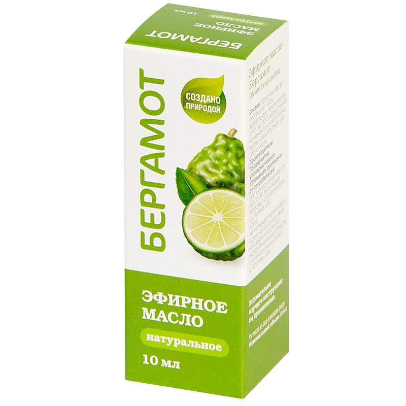 Купить Масло эфирное PL Бергамот 10мл, Натуральные масла