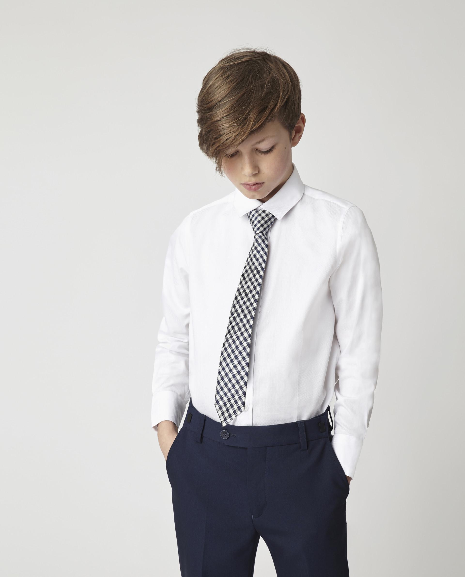 Купить Белая рубашка Gulliver 220GSBC2326, размер 170, Рубашки для мальчиков