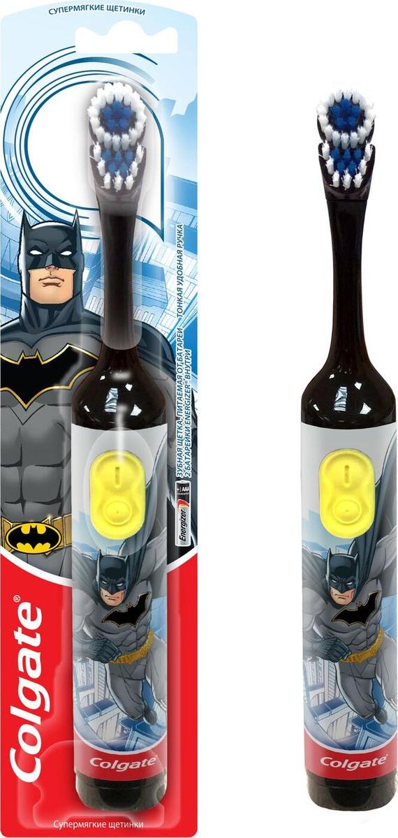 Электрическая зубная щетка Colgate Batman Black