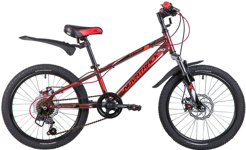 Велосипед Novatrack Extreme D 20 2019 One Size brown