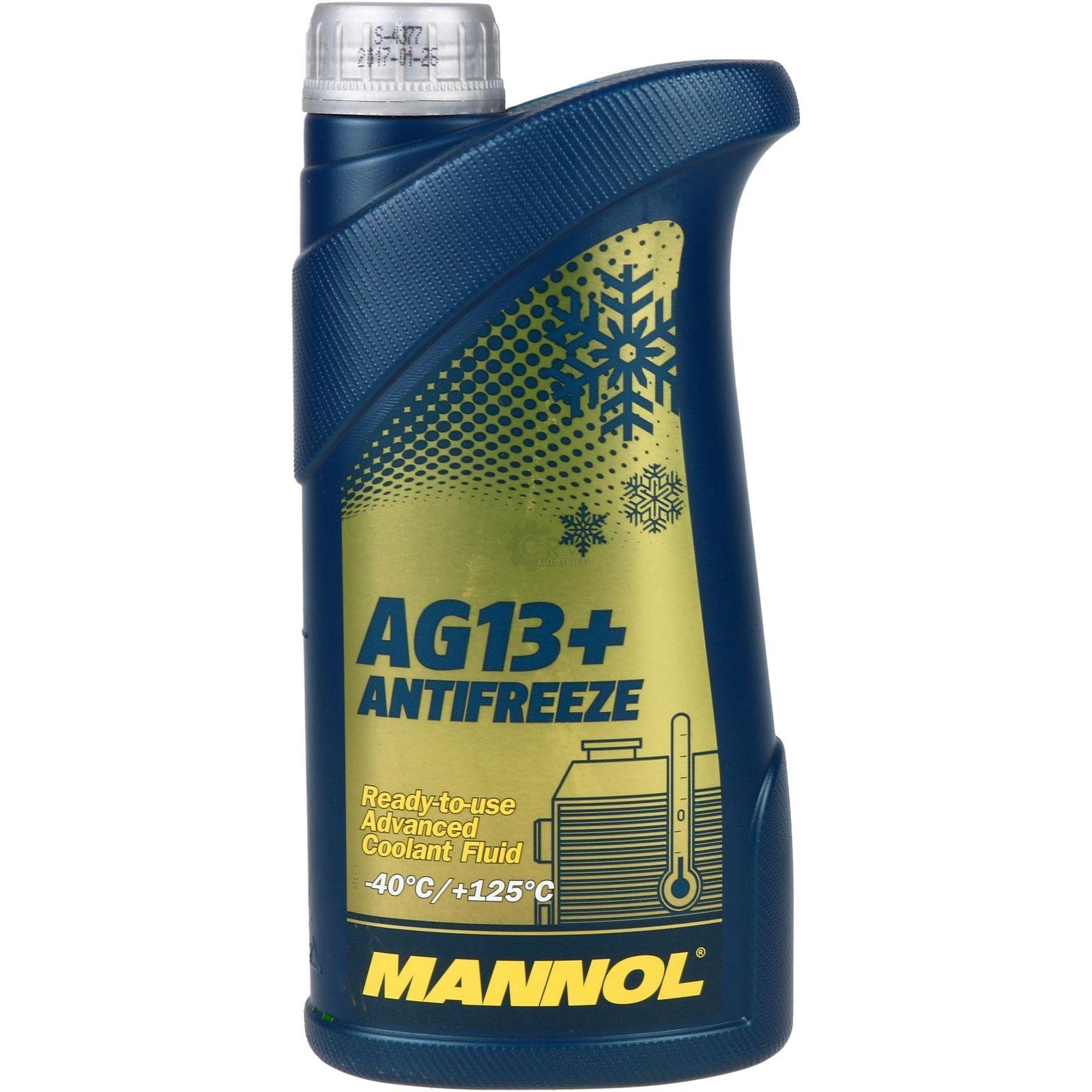 Антифриз MANNOL Желтый Готовый антифриз 1л 2066