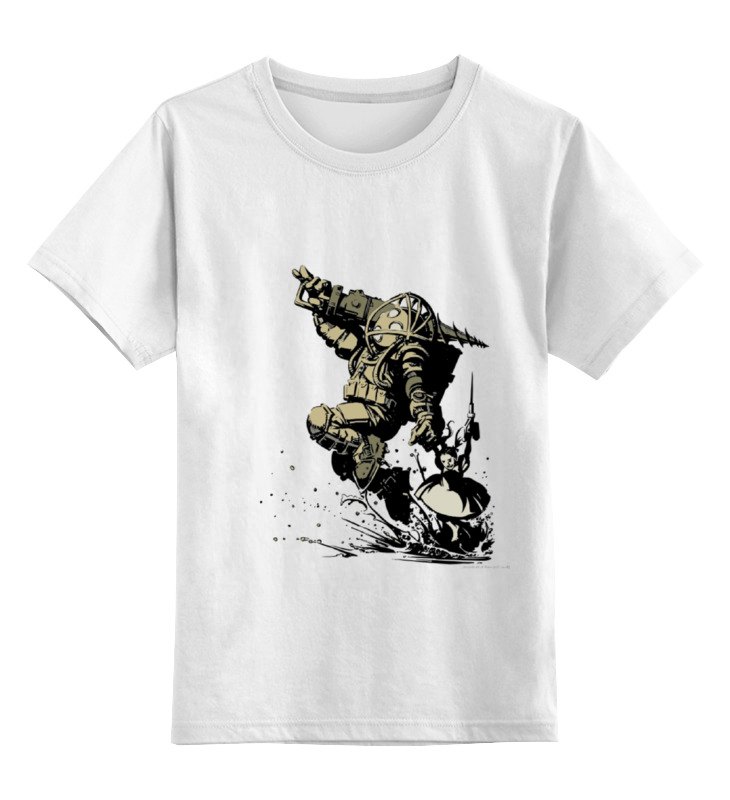 Детская футболка Printio Big daddy цв.белый р.116 0000000780111
