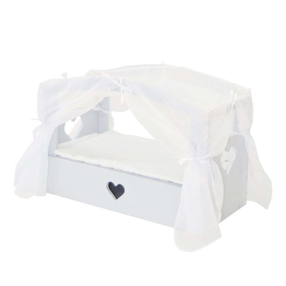 Кроватка с бельевым ящиком PAREMO Любимая кукла Мини Дрим