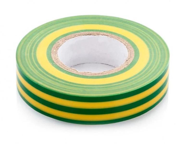 Изоляционная лента желто-зеленая VDE BTI 9176354