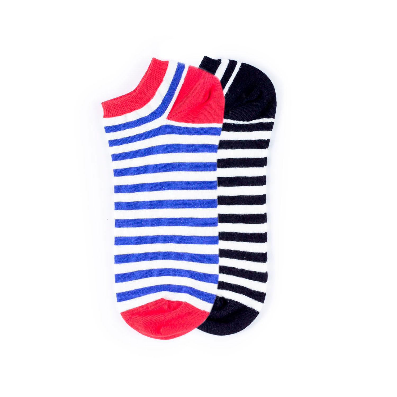 Набор носков Burning heels Ankle Stripe 2 пары разноцветный 39-41