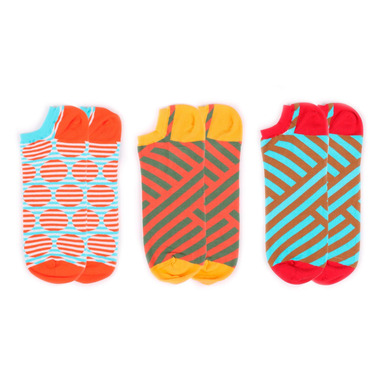 Набор носков Burning heels Ankle Misc 3 пары разноцветный 42-45