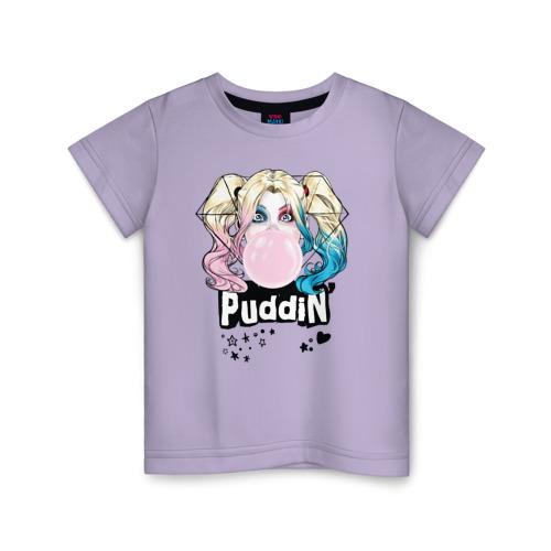 Купить Хлопок Puddin' - 2003723, Детская футболка ВсеМайки Puddin', размер 128, VseMayki.ru,