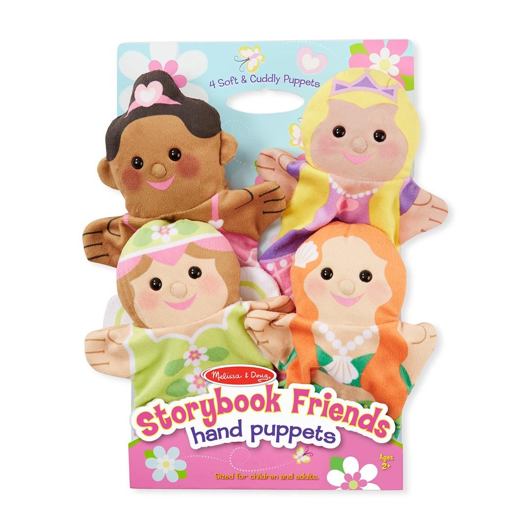 Купить Плюшевые куклы на руку-Принцессы, Melissa & Doug,