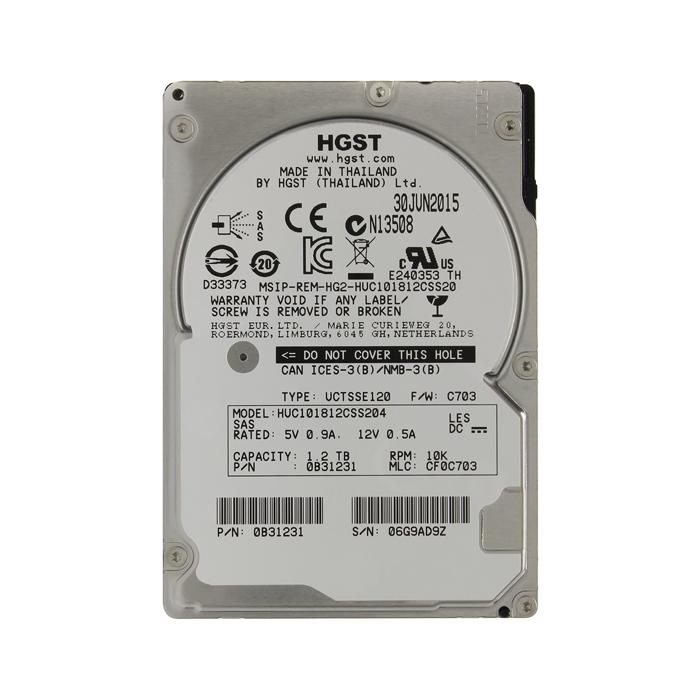 Внутренний жесткий диск HGST Ultrastar C10K1800 2.5