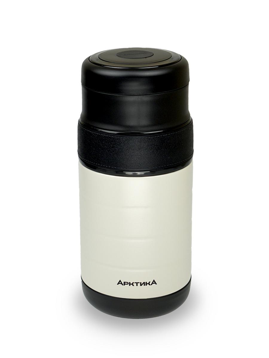 Термос для еды с тремя контейнерами, Арктика, вакуумный, бытовой, 1.3л, 308-1300