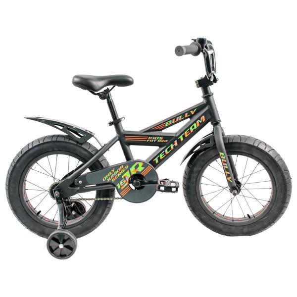 Детский велосипед фэтбайк Tech Team Bully 18 черный
