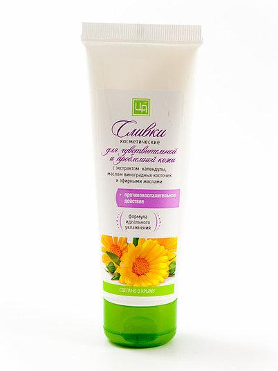 Купить Сливки косметические Царство ароматов для чувствительной и проблемной кожи