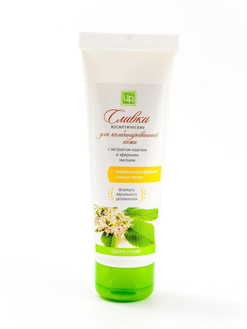 Купить Сливки косметические Царство ароматов для комбинированной кожи с экстрактом каштана